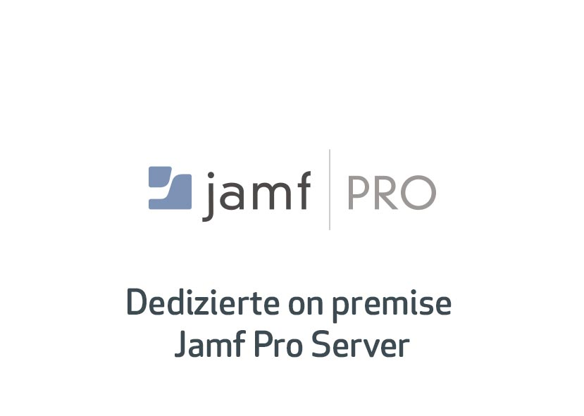 Dedizierte on premise _Jamf Pro Server