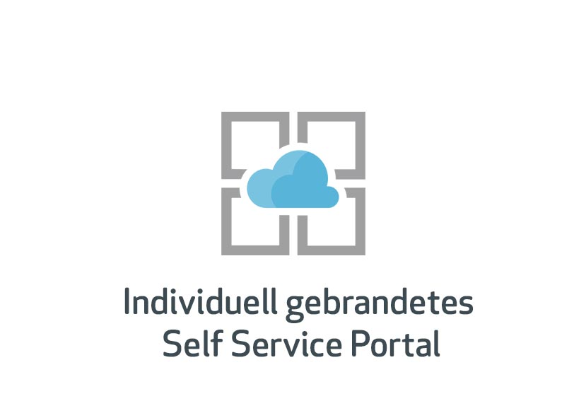 individuell gebrandetes Self Service Portal
